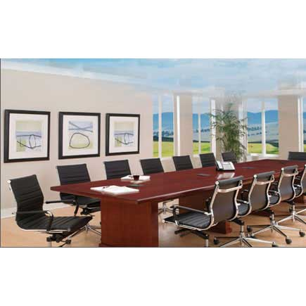 Ndi Office Furniture Segmented Leather Conference Office