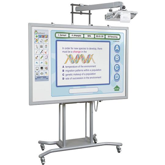 27634-iteach2-mobile-electric-interactive-whiteboard-stand-w-short-throw-arm