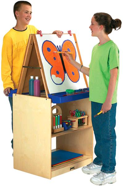 02891jc-2-station-art-easel-school-age