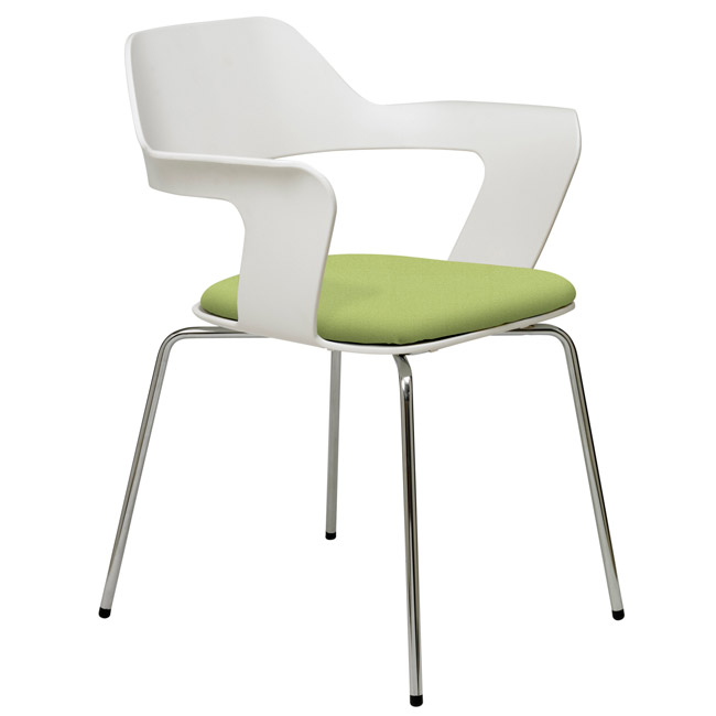 Exceptionnel 2500ch Julep Padded Stack Chair