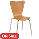 Click here for more 3888 Wood Stack Chair by KFI by Worthington