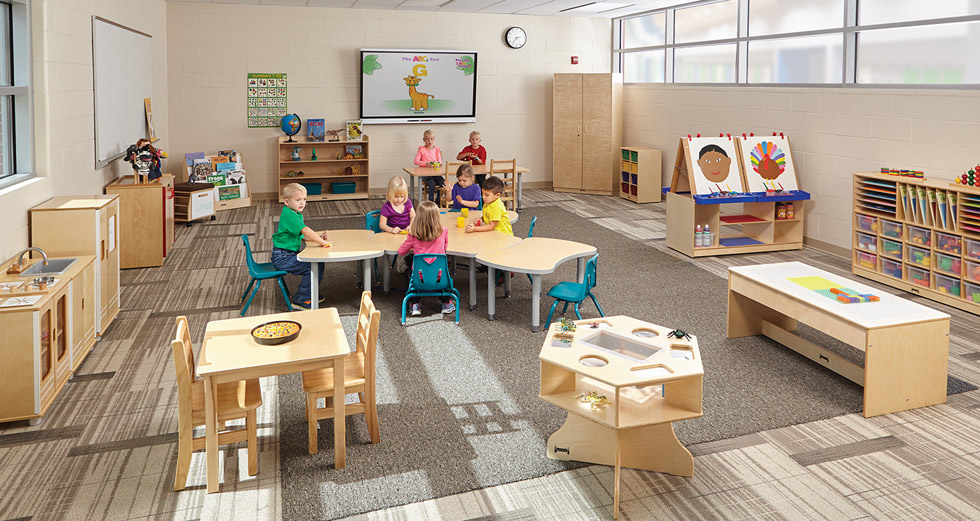 Kindergarten Classroom design by Jonti Craft