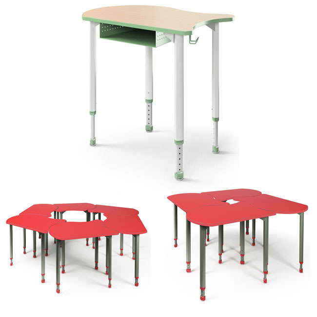 Collaborative Student Desks ~ All koi collaborative desks by paragon options