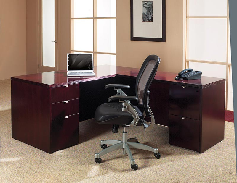 Kent Series L-Shape Desk