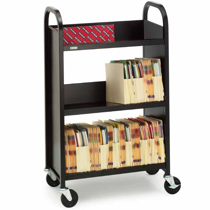 booktruck-with-3-slant-shelves-by-bretford