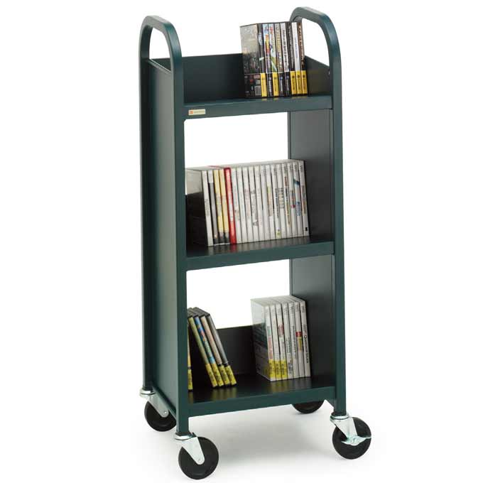 l33017-singlesided-upsable-booktruck-w-3-slanted-shelves-17-w