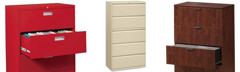 Examples of Lateral File Cabinets