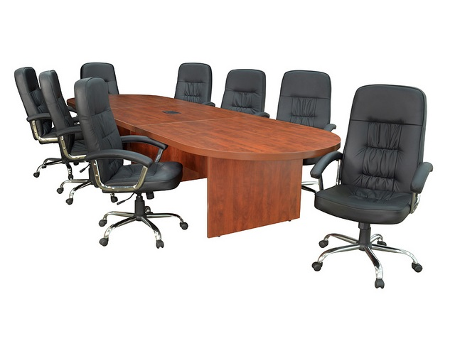 Regency Office Furniture Legacy Modular Racetrack Conference Table - Regency conference table