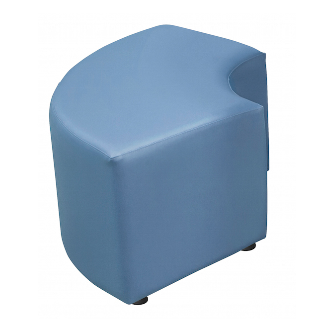 Marco Group Curve Ottoman Soft Seating Stool - Lf1251 (18\