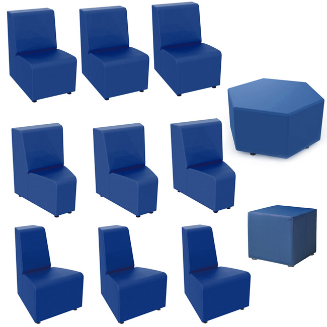 Marco Group 11-Piece Ottoman Soft Seating Package (16\