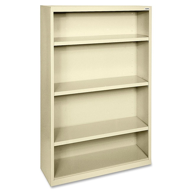 llr41286-fortress-series-metal-bookcase-w-4-shelves