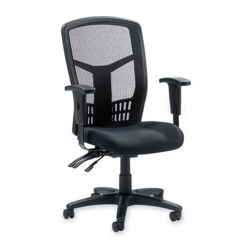 Superior Llr86200 Lorell Executive Mesh High Back Office Chair