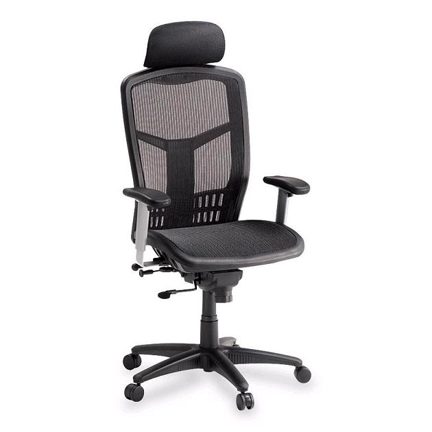 Attractive Llr60324 High Back Mesh Chair W Headrest