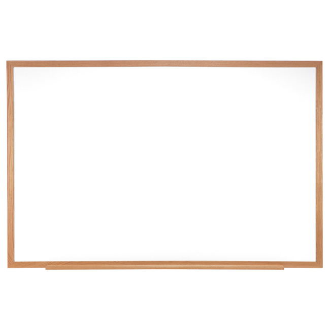 m3w-412-4-painted-steel-magnetic-whiteboards-wood-frame-4-x-12