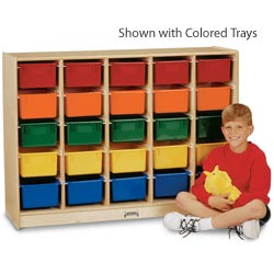 0525jc-e-z-glide-25-tray-mobile-cubbie-rack-with-colored-trays