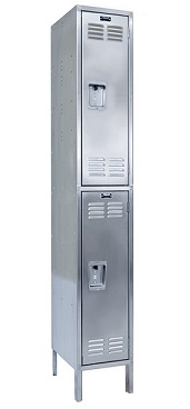 uss1888-2a-stainless-steel-double-tier-1-wide-locker-assembled