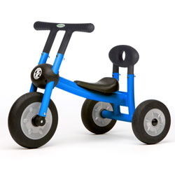 10001-blue-pilot-small-tricycle-with-1-seat-and-no-pedals-ages-12