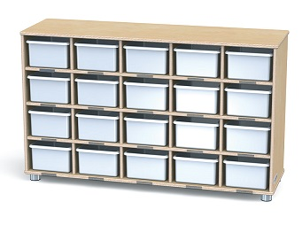 17160jc-truemodern-20-tray-cubbie-unit-w-clear-trays