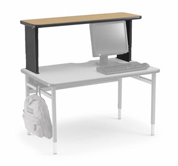 Smith system riser shelf 72 quot w 17657 training tables and seminar