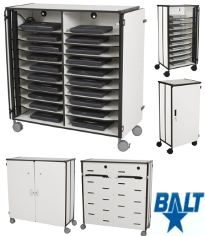Mobile Laptop Cart Charging Station By Balt