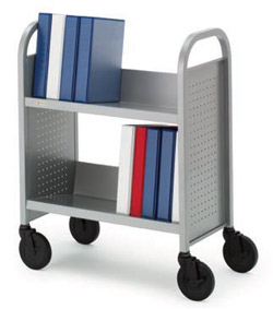 single-sided-booktruck