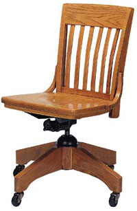 302a-solid-oak-swivel-chair-on-casters
