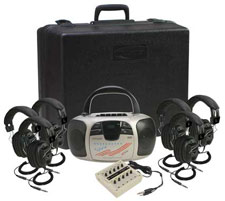 1776plc6-prepackaged-powered-listening-center-w6-headphones