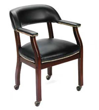 b9545-button-tufted-captains-chair-casters-burgundy