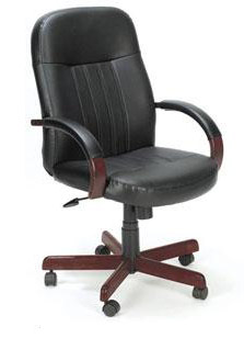 b8376-leather-executive-chair-w-wood-frame