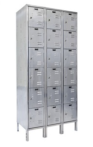 uss3288-6a-stainless-steel-six-tier-3-wide-locker-assembled