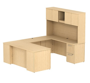300s055xx-realize-series-u-shaped-desk-w-hutch-72-w-x-30-d