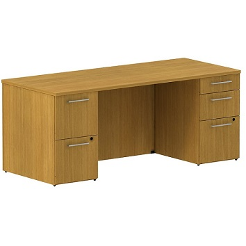 300sddp72xxk-realize-series-double-pedestal-desk-72-w-x-30-d