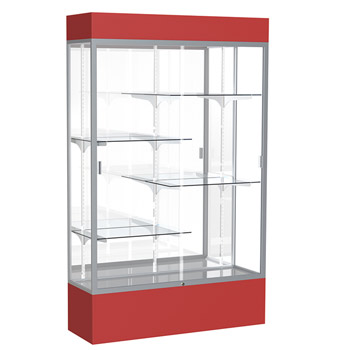 3176-spirit-series-display-case-72-w-with-cornice-top-and-light