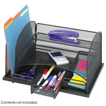 3252bl-onyx-3-drawer-desk-organizer