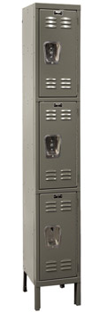 u12883a-12wx18dx24h-fully-assembled-triple-tier-lockers-1section-wide-3-openings