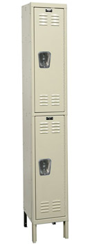 u1226-2-premium-double-tier-1-wide-lockers-unassembled-12-w-x-12-d-x-30-h