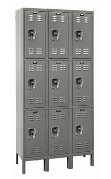 u32883-12wx18dx24h-unassembled-triple-tier-lockers-3sections-wide-9-openings
