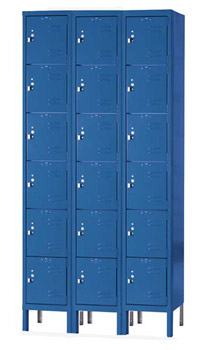 u32886-12wx18dx12h-unassembled-six-tier-box-lockers-3sections-wide-18-openings