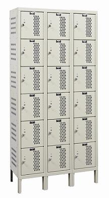 u3258-6hv-a-heavy-duty-ventilated-six-tier-3-wide-locker-assembled-12-w-x-15-d-x-12-h