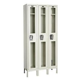 usv32281-safety-view-threewide-singletier-locker-unassembled-12-w-x-12-d-x-72-h-opening