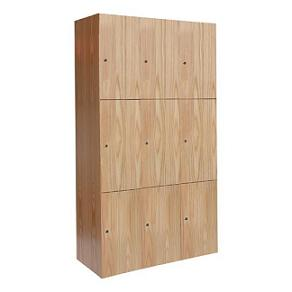 uw32823aw-threewide-tripletier-wood-club-locker-12-w-x-18-d-x-24-h-opening