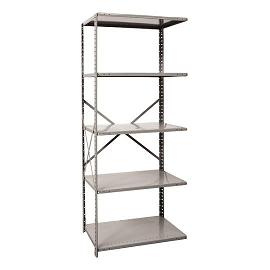 a451012-mediumduty-open-shelving-adder-unit-w-5-shelves-36-w-x-12-d-x-87-h