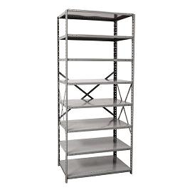 571312-heavyduty-open-shelving-starter-unit-w-8-shelves-48-w-x-12-d