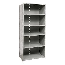 772118-extra-heavyduty-closed-shelving-starter-unit-w-6-shelves-48-w-x-18-d