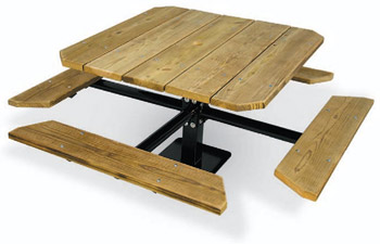 338-pt48-48-square-traditional-single-pedestal-picnic-table-pressure-treated