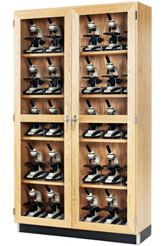 All Microscope Storage Cabinet By Diversified Woodcrafts Options - Lab storage cabinets