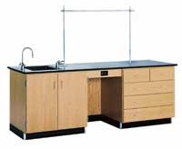 1116k-8-instructors-desk-with-drawers-on-right-side