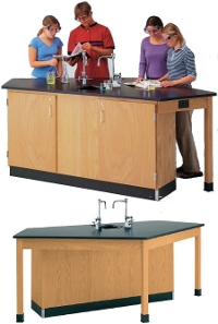 1216kr-5-instructors-desk-with-drawers-on-right-side
