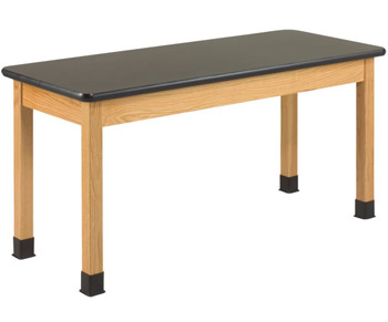 p7132k30n-black-chemguard-top-oak-science-lab-table-30-d-x-54-w