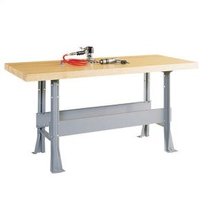 wbml21v-workbench-w-steel-base-1-vise-2-station